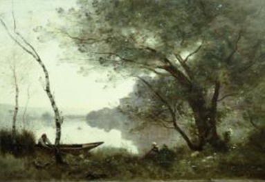 corot boatman