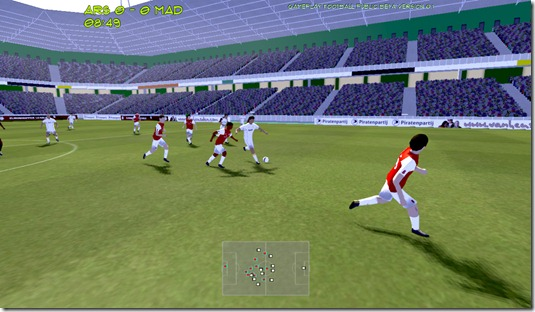 Gameplay Football beta (1)