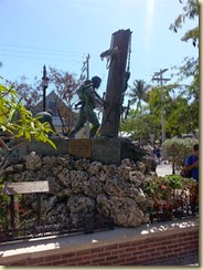 20140315_ key west statues park the wreckers (Small)
