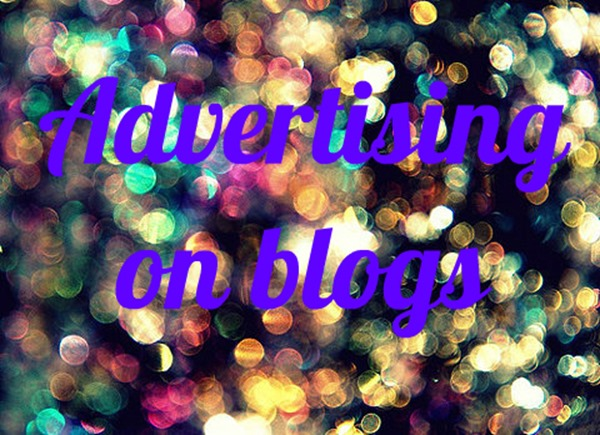 advertising on blogs