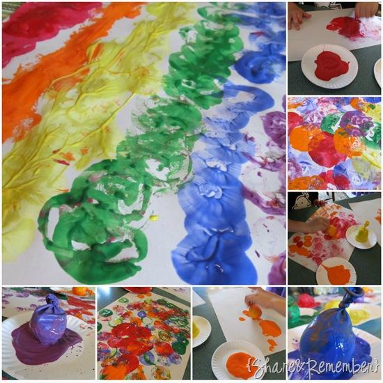 Sensory Balloons & Painting
