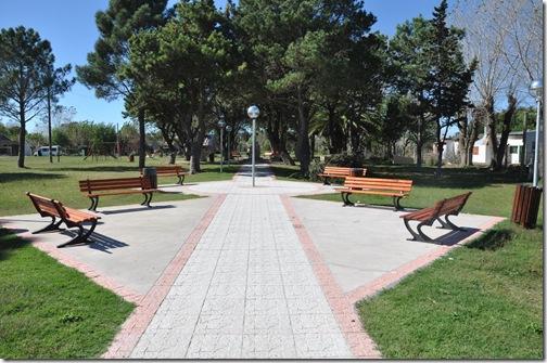 Finalizó la obra de remodelación de la Plaza Eva Perón en Villa Clelia