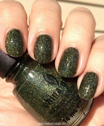 China Glaze Winter Holly 4