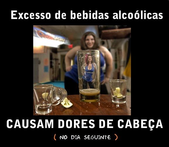A bebida alcoólica altera o cérebro e traz felicidade temporária