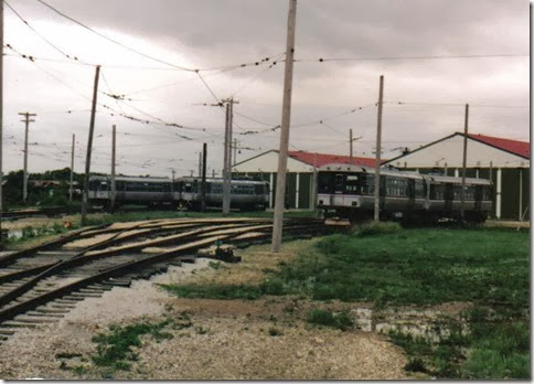 Chicago Transit Authority Cars at the Illinois Railway Museum on May 23, 2004