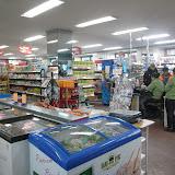 ウランバートル市内のスーパーマーケット。