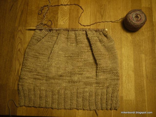 Knitting - day 1