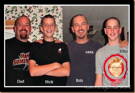 4 Bald Men