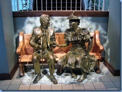 9484 Nashville, Tennessee - Discover Nashville Tour - Ryman Auditorium - Roy Acuff and Minnie Pearl