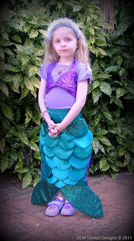 Rosie birthday mermaid 1 pic
