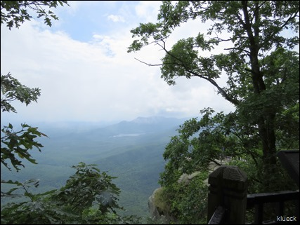 North Carolina mountain overlook