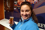 Natalie Enjoying a Speights Gluten Free Cider - Dunedin, New Zealand