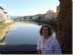 20121024 E on the Ponte Vecchio (Small)