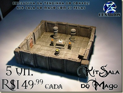 Kit Sala do Mago