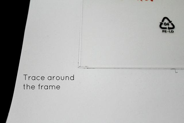 Printable tracing