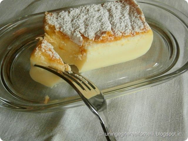 torta magica vaniglia tre strati
