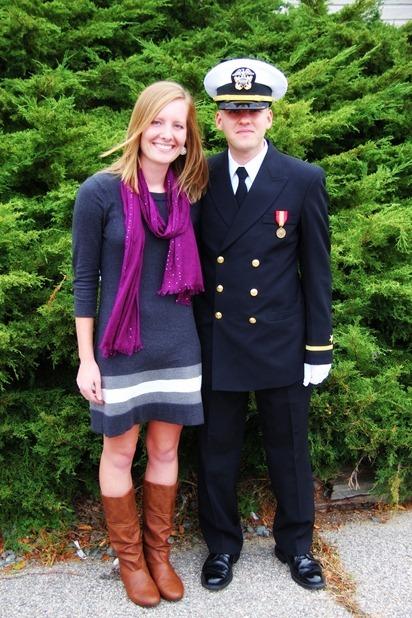 Mark Navy OCS Grad 26