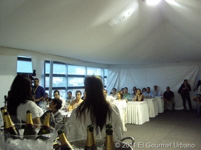 Venessa Barradas y Susy Sánchez en Sig 2010 cata de Prosecos