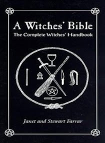 Cover of Janet Farrar's Book A Witches Bible The Complete Witches Handbook