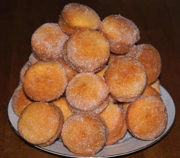 печенье - персики