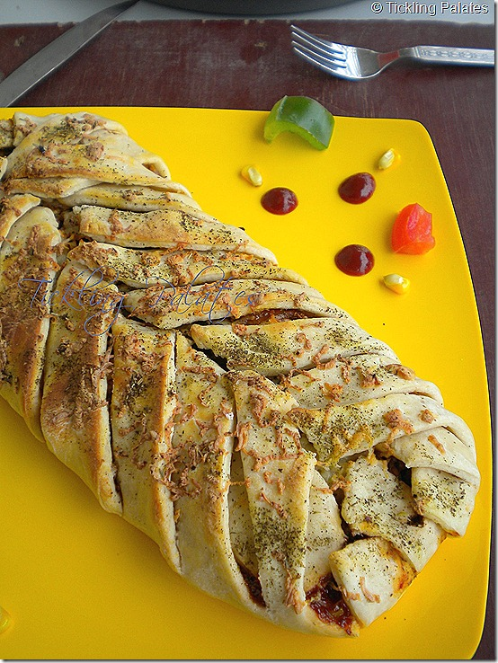 braided pizza bread recipe