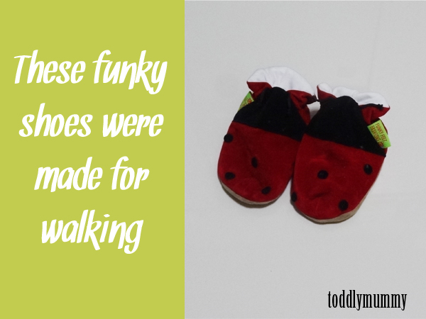 Funky shoes for walking