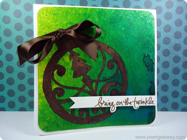 Spray Ink Cards (5)