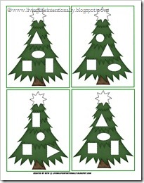 Christmas Ornament Shapes Game