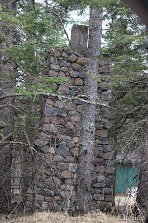 Lovelis Lake CCC Camp Chimney