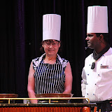 Sue Gets Ready For Her Star Chef Culinary Challenge - Celebrity Summit