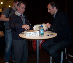 Jeffrey Eugenides signs his new novel