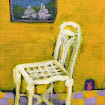 &quot;Warm Chair&quot; Acrylic SOLD