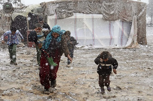 SYRIA-CRISIS/WINTER