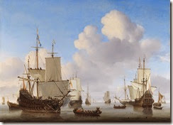 Willem_van_de_Velde_II_-_Dutch_men-o'-war_and_other_shipping_in_a_calm