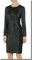 Whistles Naomi Sequin Cocktail Dress