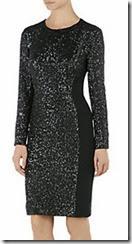 Whistles Naomi Sequin Cocktail Dress