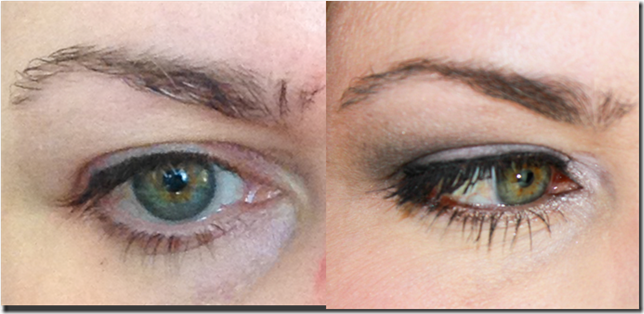 Anastasia Brow Gel before after
