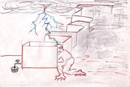 Strut pierdut in labirintul lui Kandinsky