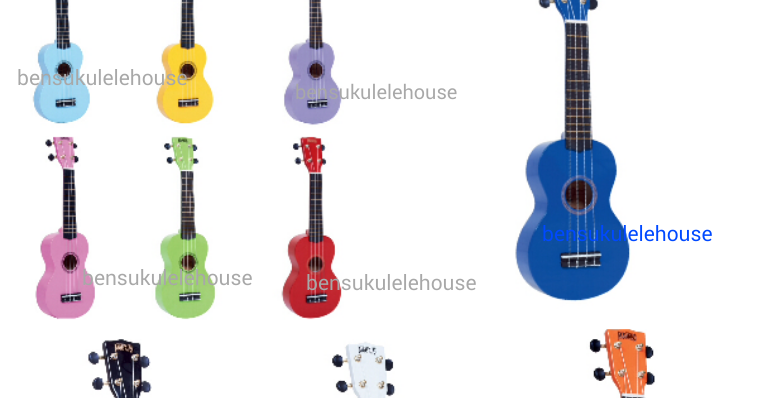 Ben 39 s ukulele house new mahalo soprano ukulele mr1 for Housse ukulele