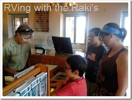 Visiting National Parks give you a chance to appreciate nature, to learn about the world around you, to collect Jr. Ranger badges, and to have fun!  RVing with the Raki's