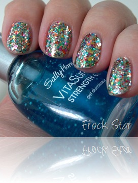 Sally Hansen Salon Effects in Frock Star 5