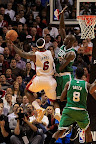 lebron james nba 121030 mia at bos 19 LeBron Sports Championship Gold LBJ X in Miami Heat Opener