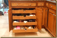 Cooking utensil drawers