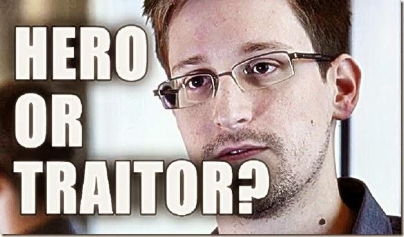 Edward Snowden - Hero or Traitor