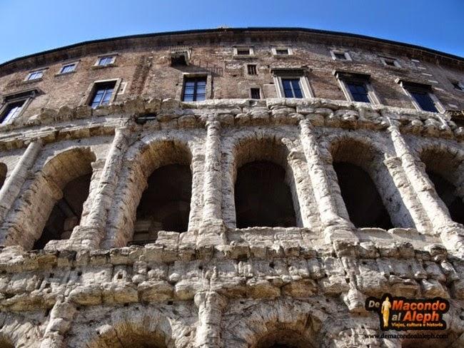 Viaje Roma Teatro Marcelo 1