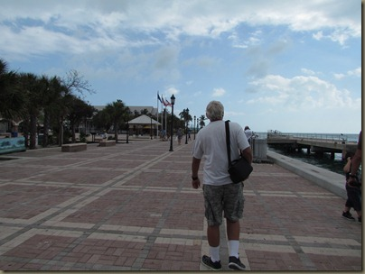 Al on Mallory Square in key West