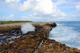 Powerful Ocean Waves At Devil's Bridge (Shot 10 of 14) - St. George's, Antigua