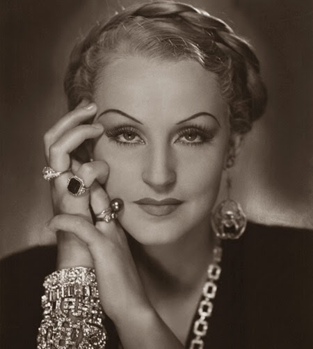 Brigitte Helm, 1934, star of Metropolis and L'Atlantide