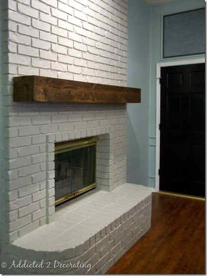 Best Rough Hewn Wood Fireplace Mantel – Addicted 2 Decorating