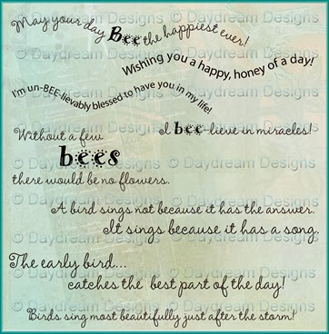 Birds and Bees Sentiments Promo